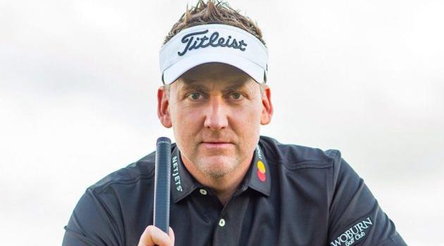 Golfer Ian poulter